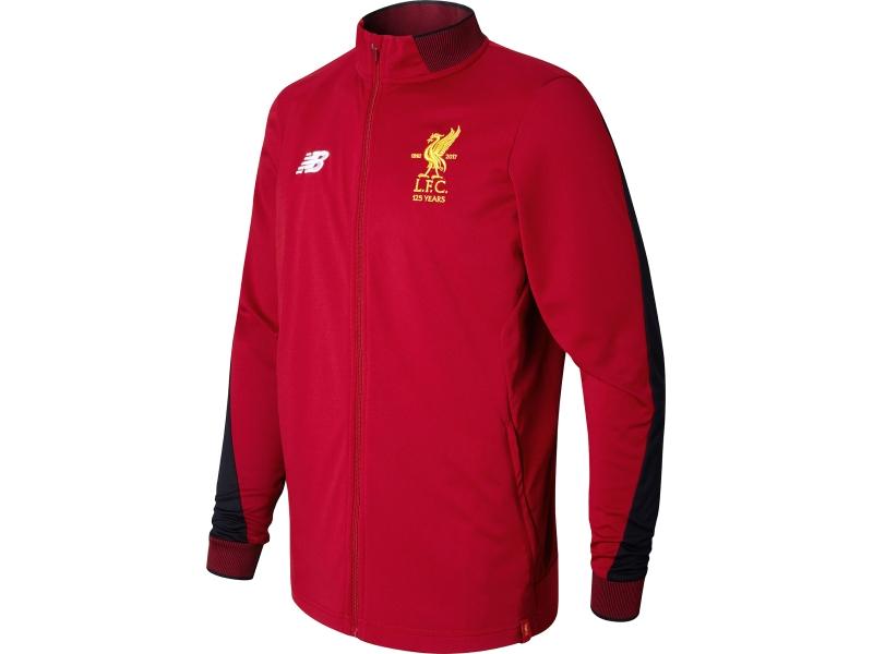 Mar pacífico responder  Liverpool New Balance chaqueta de chándal (17-18)